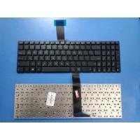 Клавиатура для ноутбука ASUS X550 X501A X501U черная плоский Enter RU