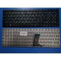 Клавиатура для ноутбука ASUS X551 X551CA X551MA черная без рамки плоский Enter RU