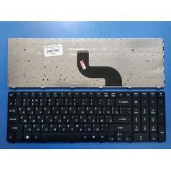 Клавиатура для ноутбука Acer Aspire 5251, 5410, 5532, 5536, 5538, 5542G, 5810T (черная)