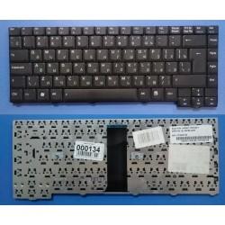 Клавиатура для ноутбука Asus F3 X53 черная 28pin