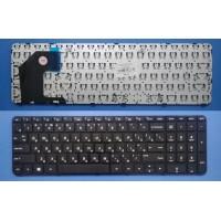 Клавиатура для ноутбука HP Pavilion 15-b черная с черной рамкой