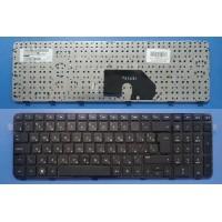 Клавиатура для ноутбука HP Pavilion DV6-6000 DV6-7050 DV6-6b60 DV6-6c30 Series (черная, с рамкой)