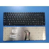 Клавиатура для ноутбука Lenovo IdeaPad B570 B580 V570 Z570 Z575 B590 черная с черной рамкой