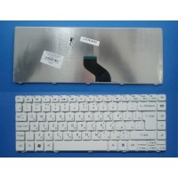Клавиатура для ноутбука Packard Bell EasyNote NM85 NM87 NX86-JN NX86-JO Gateway NV49C Series Белая