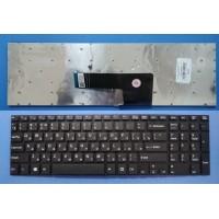 Клавиатура для ноутбука Sony SVF15 черная без рамки