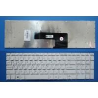 Клавиатура для ноутбука Sony SVF15 белая без подсветки