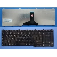 Клавиатура для ноутбука Toshiba Satellite C650 C655 C660 L650 L670 L675 L750 L755 L775 black RU
