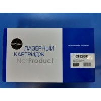 Картридж NetProduct (N-CF280X) HP LJ Pro 400 M401/Pro 400 MFP M425, 6,9K